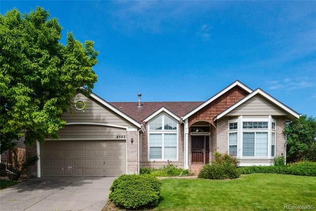 6502 Jackson Court, Highlands Ranch, CO 80130 (#7234496) :: Wisdom Real Estate