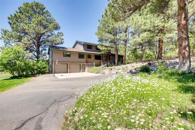 28 S White Tail Drive, Franktown, CO 80116 (#7238929) :: The HomeSmiths Team - Keller Williams