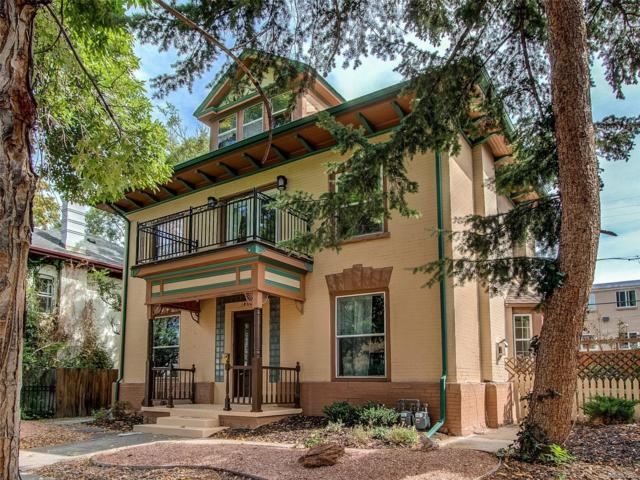1460 Clayton Street, Denver, CO 80206 (#7239812) :: The Griffith Home Team