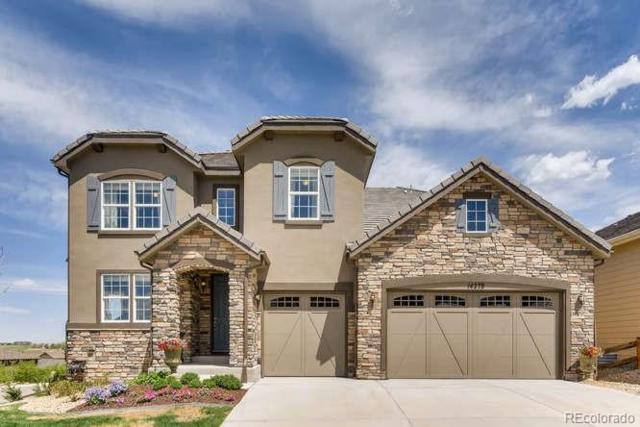 14278 Glenayre Circle, Parker, CO 80134 (#7243926) :: The Pete Cook Home Group