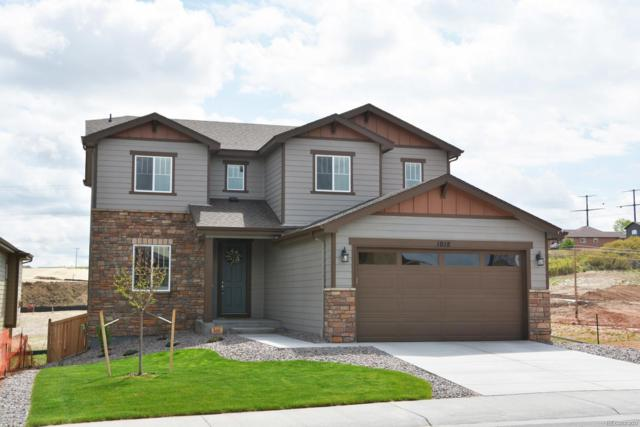 1018 Mcmurdo Circle, Castle Rock, CO 80108 (#7245399) :: The Pete Cook Home Group