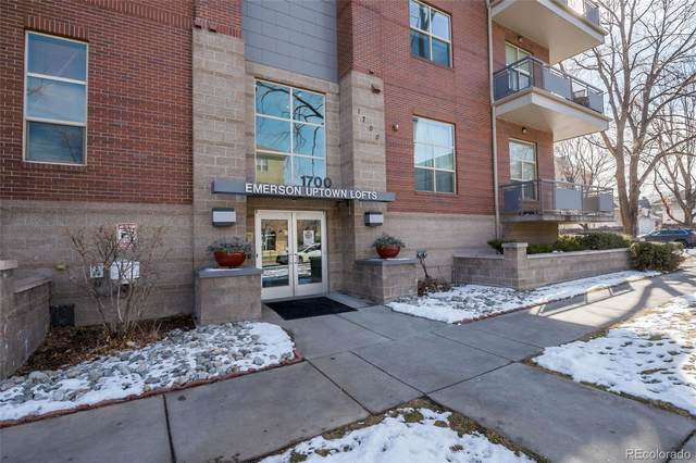 1700 N Emerson Street #307, Denver, CO 80218 (#7246232) :: Realty ONE Group Five Star