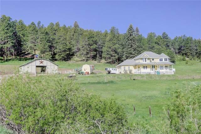 11951 Tecumseh Trail, Conifer, CO 80433 (#7246264) :: Kimberly Austin Properties