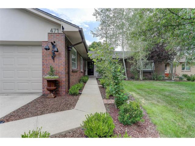 471 S Garfield Street, Denver, CO 80209 (MLS #7246483) :: 8z Real Estate