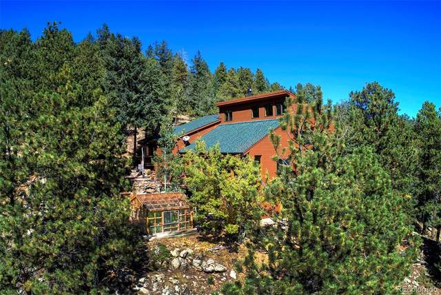 869 Meadow View Drive, Evergreen, CO 80439 (MLS #7250511) :: 8z Real Estate