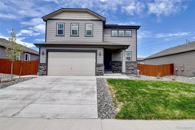 443 Blue Teal Drive, Castle Rock, CO 80104 (MLS #7251217) :: Stephanie Kolesar