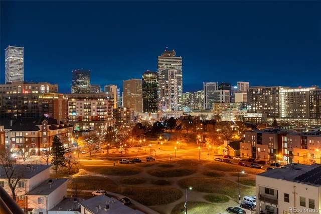 100 Park Avenue #802, Denver, CO 80205 (#7251905) :: The Griffith Home Team