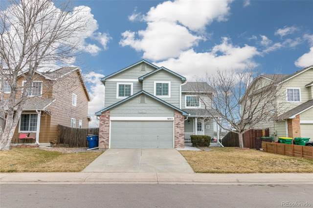 5803 E 123rd Drive, Brighton, CO 80602 (#7253592) :: Stephanie Fryncko | Keller Williams Integrity