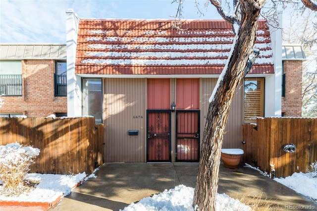6474 E Bates Avenue, Denver, CO 80222 (#7257500) :: HomeSmart