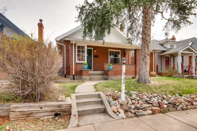 980 S Pearl Street, Denver, CO 80209 (MLS #7263811) :: The Sam Biller Home Team