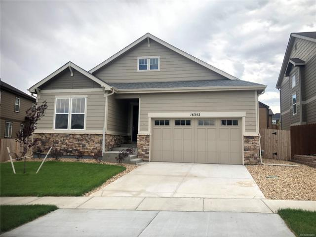 16352 E 100th Way, Commerce City, CO 80022 (#7265765) :: The DeGrood Team