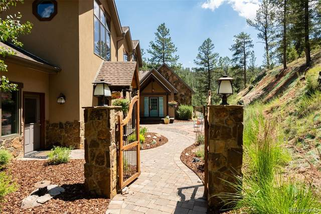 15541 S Elk Creek Road, Pine, CO 80470 (#7273366) :: The DeGrood Team