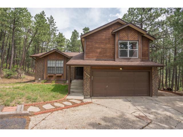 15095 Pleasant View Drive, Colorado Springs, CO 80921 (MLS #7275941) :: 8z Real Estate