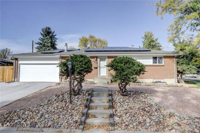 11907 W 58th Place, Arvada, CO 80004 (#7276459) :: My Home Team