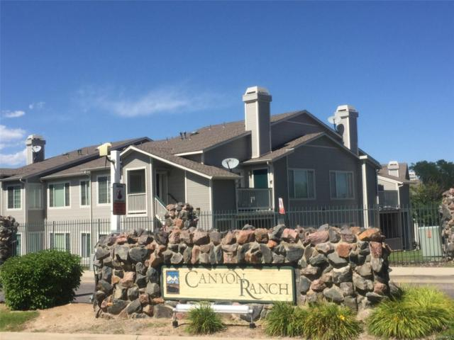 8435 Pebble Creek Way #104, Highlands Ranch, CO 80126 (#7277430) :: The Griffith Home Team