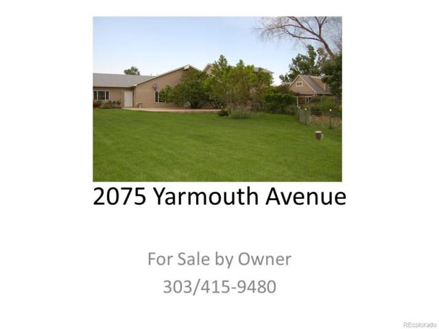 2075 Yarmouth Avenue, Boulder, CO 80301 (MLS #7280601) :: 8z Real Estate