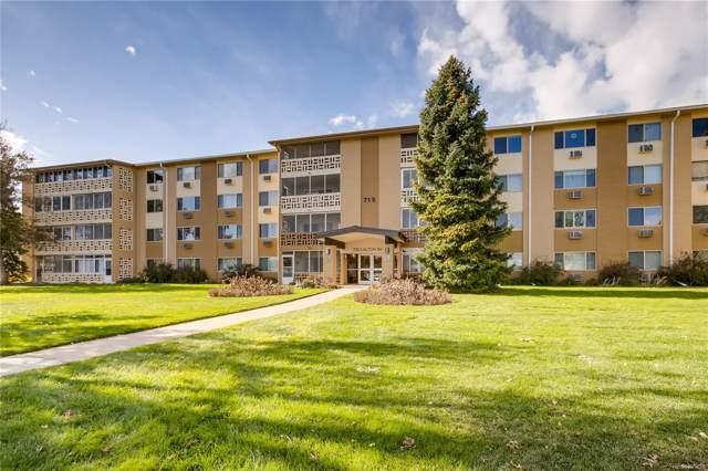 715 S Alton Way 8B, Denver, CO 80247 (MLS #7286423) :: The Sam Biller Home Team