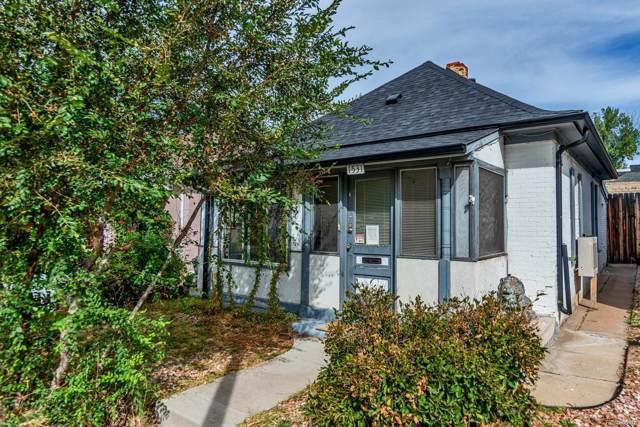 1531 E Alameda Avenue, Denver, CO 80209 (#7290020) :: The Peak Properties Group