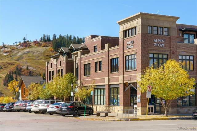 601 Lincoln Avenue R-2E, Steamboat Springs, CO 80487 (#7293844) :: The Gilbert Group