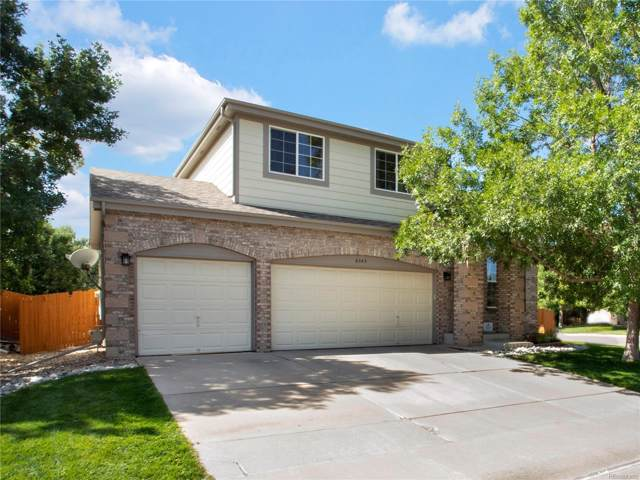 6343 Trappers Trail Avenue, Parker, CO 80134 (#7294891) :: HomePopper