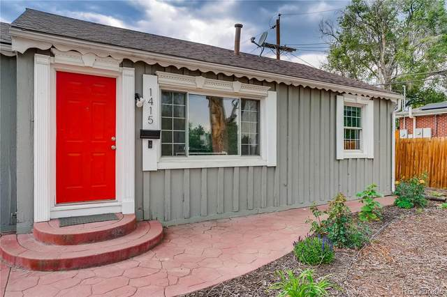 1415 S Knox Court, Denver, CO 80219 (#7298081) :: The HomeSmiths Team - Keller Williams