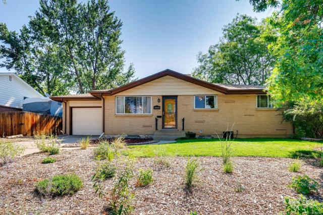 1322 S Vance Street, Lakewood, CO 80232 (#7298379) :: Structure CO Group