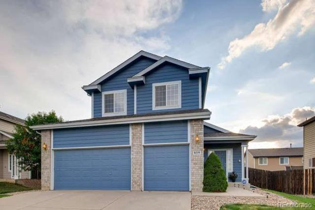 819 Pitkin Way, Castle Rock, CO 80104 (#7300547) :: Structure CO Group