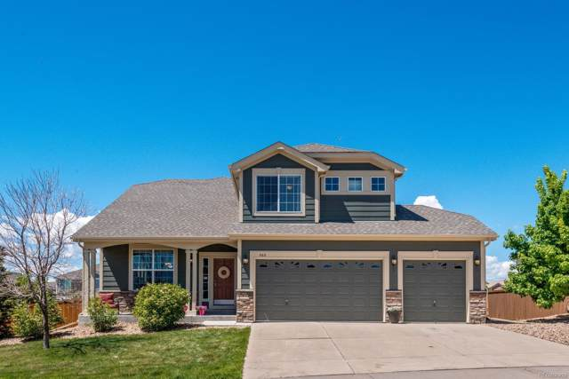 568 Cinnabar Lane, Castle Rock, CO 80108 (MLS #7300723) :: 8z Real Estate