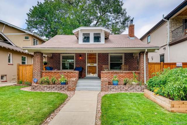 1649 Jackson Street, Denver, CO 80206 (#7303275) :: Chateaux Realty Group