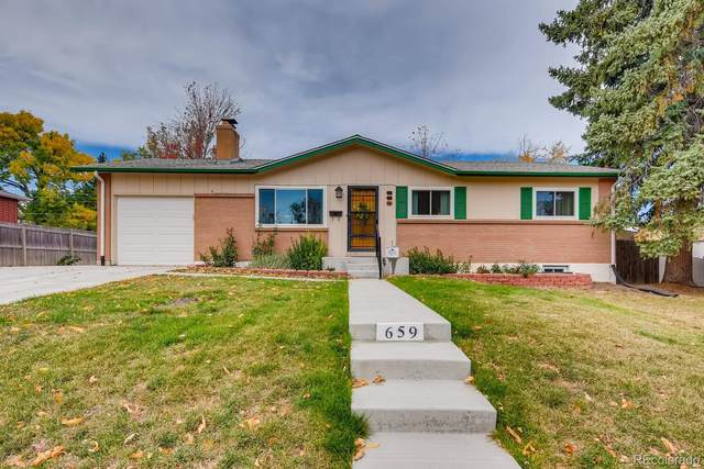 659 S Swadley Street, Lakewood, CO 80228 (#7310428) :: James Crocker Team
