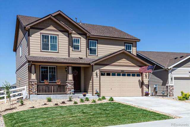 2865 Bluff Pointe Trail, Castle Rock, CO 80104 (#7318142) :: The Griffith Home Team