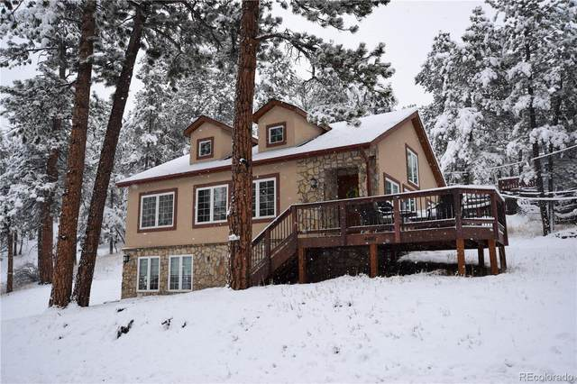 4489 Blue Spruce Road, Evergreen, CO 80439 (#7330788) :: The DeGrood Team