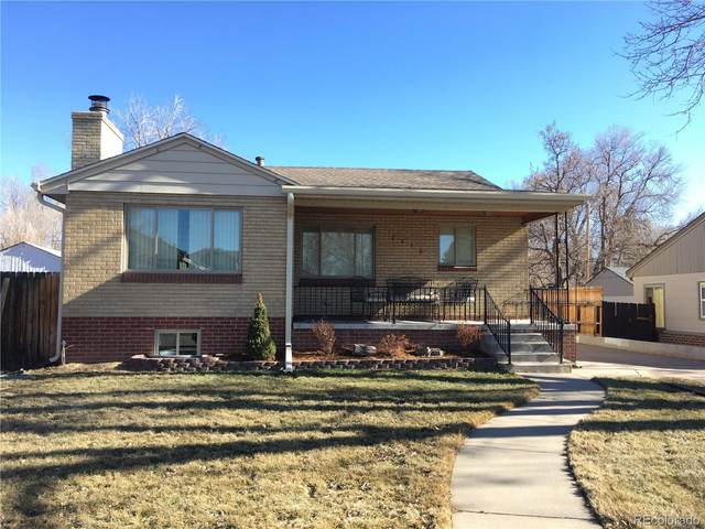 2478 S High Street, Denver, CO 80210 (#7333511) :: The Griffith Home Team