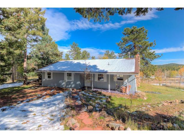 19693 Silver Ranch Road, Conifer, CO 80433 (MLS #7336324) :: 8z Real Estate