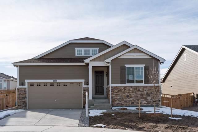 6743 Palmetto Court, Castle Rock, CO 80108 (MLS #7340691) :: 8z Real Estate