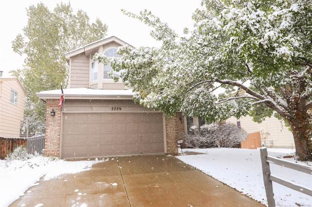 5759 W 116th Place, Westminster, CO 80020 (MLS #7344336) :: 8z Real Estate