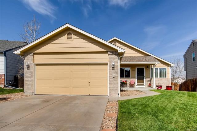 11065 Callaway Court, Parker, CO 80138 (#7345677) :: House Hunters Colorado