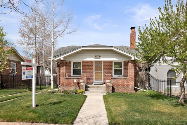 2033 S Logan Street, Denver, CO 80210 (#7347039) :: The Peak Properties Group