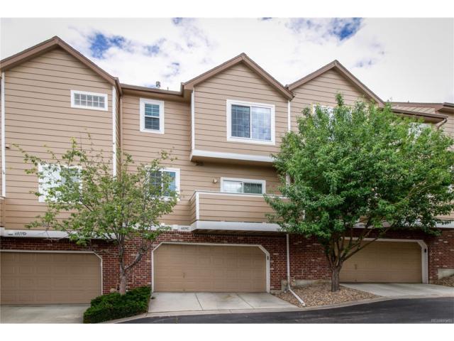 6819 S Webster Street C, Littleton, CO 80128 (MLS #7351842) :: 8z Real Estate