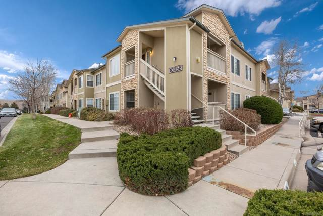 10056 E Carolina Place #104, Aurora, CO 80247 (#7353354) :: James Crocker Team
