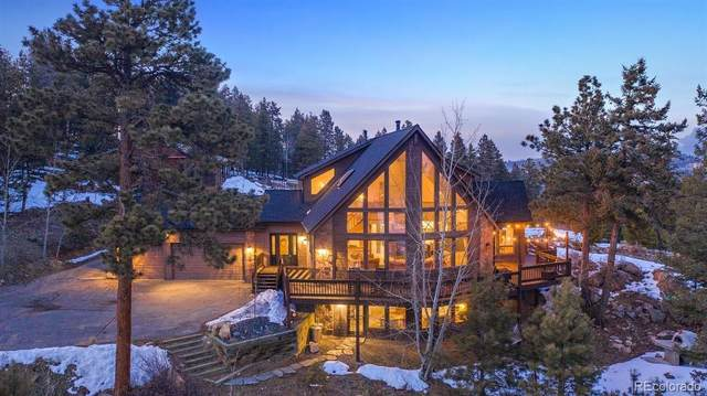 12954 S Ridge Road, Conifer, CO 80433 (#7360496) :: Berkshire Hathaway Elevated Living Real Estate