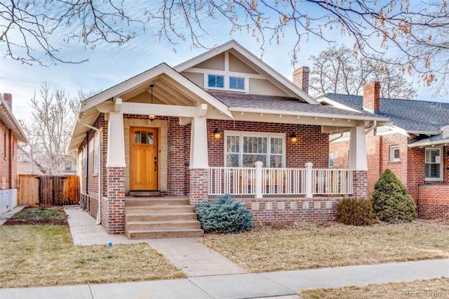 711 S Emerson Street, Denver, CO 80209 (#7370356) :: The DeGrood Team