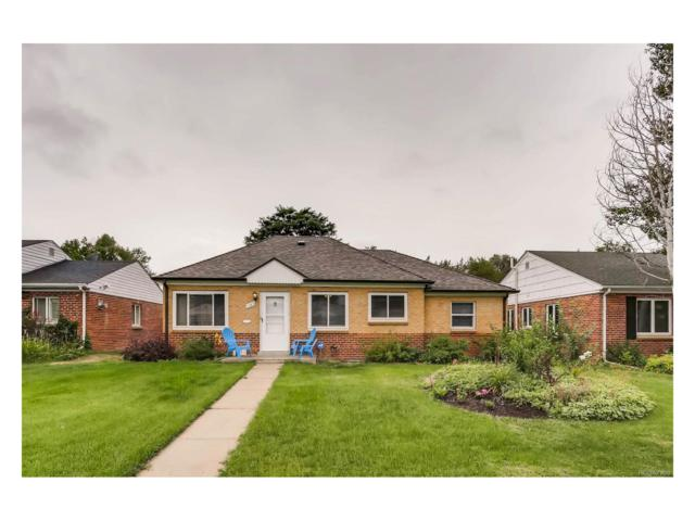 1345 Holly Street, Denver, CO 80220 (MLS #7371907) :: 8z Real Estate