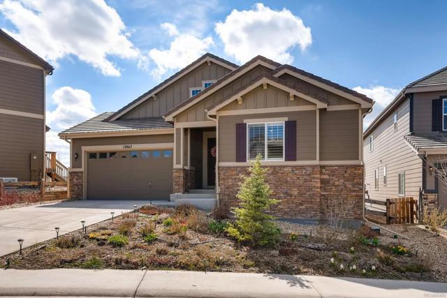 13863 Ashgrove Circle, Parker, CO 80134 (#7374923) :: The Griffith Home Team