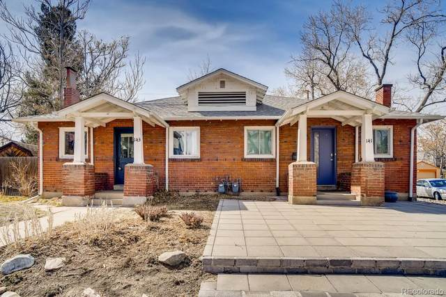 143 S Sherman Street, Denver, CO 80209 (#7377091) :: The Colorado Foothills Team | Berkshire Hathaway Elevated Living Real Estate