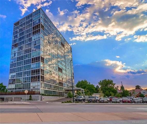 3100 E Cherry Creek South Drive #1002, Denver, CO 80209 (#7377765) :: The Colorado Foothills Team | Berkshire Hathaway Elevated Living Real Estate