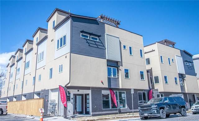 4431 Tennyson Street #10, Denver, CO 80212 (#7379302) :: The Peak Properties Group
