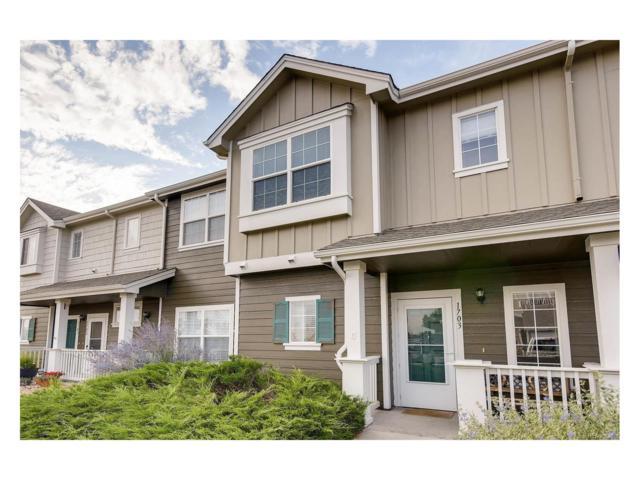 14700 E 104th Avenue #1703, Commerce City, CO 80022 (MLS #7380792) :: 8z Real Estate