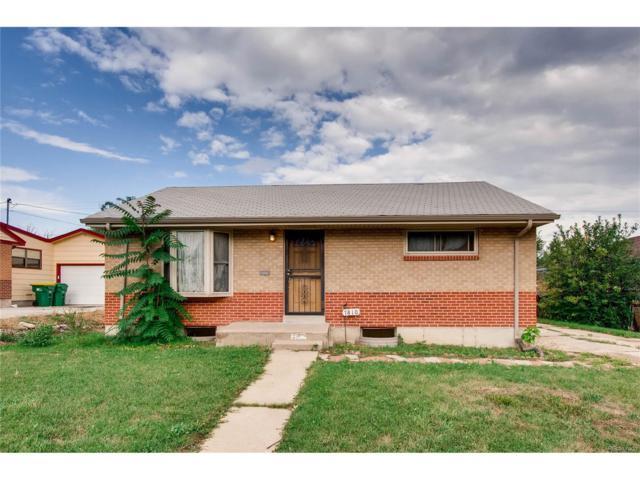 7810 Tejon Street, Denver, CO 80221 (MLS #7385967) :: 8z Real Estate