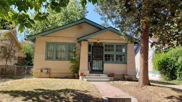 2215 S Emerson Street, Denver, CO 80210 (MLS #7389567) :: 8z Real Estate